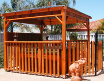pool fencing spa gazebo
